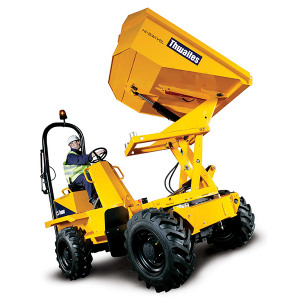 Alldrive 1.5 Tonne Hi Swivel Dumper hire