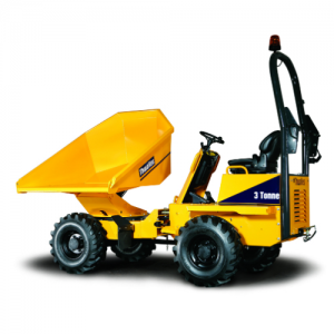 Dumper for hire Alldrive 3 Tonne Power swivel