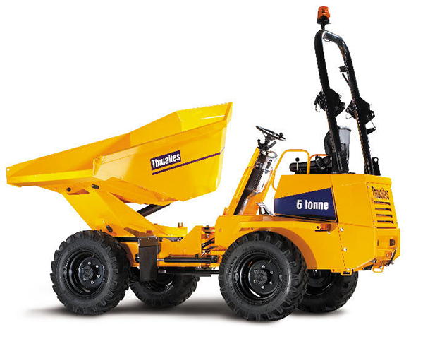 Alldrive 6 Tonne Power swivel dumper hire essex