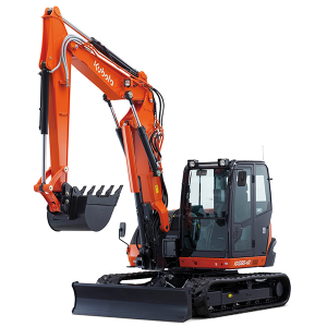 KUBOTA MINI EXCAVATOR Hire KX080-3 Essex
