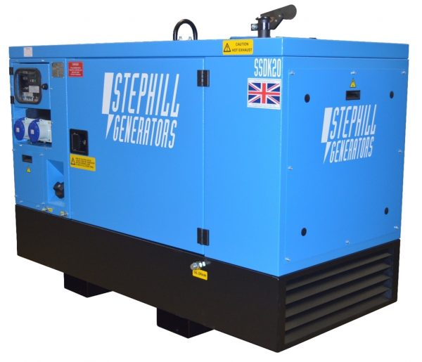 Stephill generator hire essex SSD20W